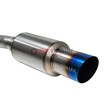 Picture of Remark Catback R1-Spec Titanium Muffler Single Exit - STI / WRX 15+