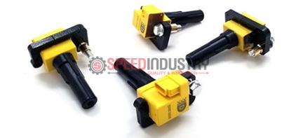 Picture of Delicious Tuning OEM+ Coil Packs - 02-14 WRX, 04+ STI (Yellow)