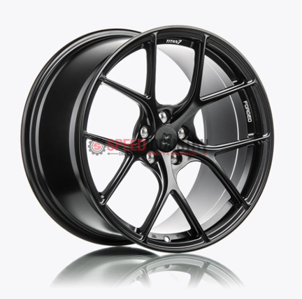 Picture of Titan 7 T-S5 19in Machine Black -A90 MKV Supra GR 2020+ (Front and Rear Fitment)