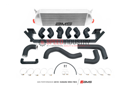 Picture of AMS Performance Front Mount Intercooler with Bumper Beam-2015+ WRX