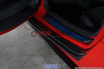 Picture of Revel GT Dry Carbon Door Sill Plates (Outer) 2PCS-GR Supra 20+
