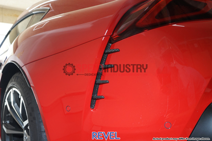 Picture of Revel GT Dry Carbon Rear Duct Covers 2PCS -GR Supra 20+