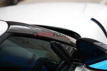 Picture of Rexpeed Gloss Carbon Fiber A-Pillar Cover-A90 MKV Supra 2020+