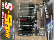 Picture of Muteki SR45S Black Lock Nuts M12x1.25 (4PC)