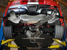 "Picture of AFE Takeda 3-1/2"" 304 Stainless Steel Cat-Back Exhaust System-A90 MKV Supra 2020+"