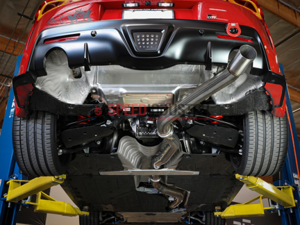 """Picture of AFE Takeda 3-1/2"""" 304 Stainless Steel Cat-Back Exhaust System-A90 MKV Supra 2020+"""