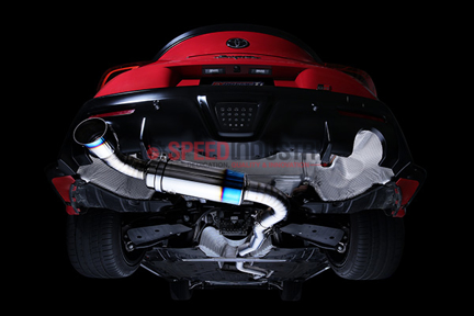 TB6090-TY06A - Single Exit Tomei Ti Exhaust A90 Supra