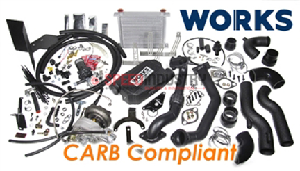 Picture of WORKS 2017-2019 BRZ / 86 Stage 2 Turbo Kit - Calibrated Ver. CARB CompliantVer. CARB Compliant