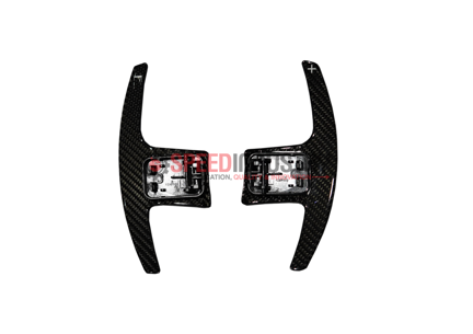Picture of Rexpeed  Supra 2020+ Dry Carbon Steering Wheels Shift Paddles Full Replacement (BLACK)