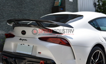 Picture of Rexpeed Supra 2020 V3 Forged Carbon Rear Wing (MATTE)