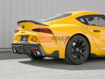 Picture of Takeda 2-1/2 IN to 3 IN 304 Stainless Steel Cat-Back Exhaust System w/ Carbon Fiber Tip