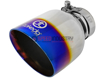 Picture of Takeda 2-1/2 IN to 3 IN 304 Stainless Steel Cat-Back Exhaust System w/ Blue Flame Tip