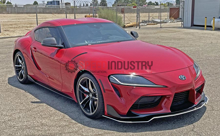 Picture of FS Performance Engineering Toyota Supra (A90) CHASSIS MOUNTED Front Splitter (2020-2021)